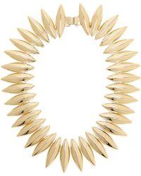 Tuleste - Talon Interlocking Necklace - Lyst