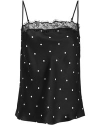 Anine Bing - Monroe Lace Camisole - Lyst