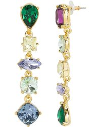 Kenneth Jay Lane - Mismatched Drop Earrings - Lyst