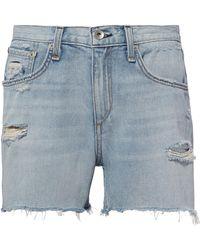 Rag & Bone - Martini Cutoff Shorts - Lyst