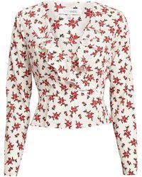 Intermix - Evonne Floral Top - Lyst