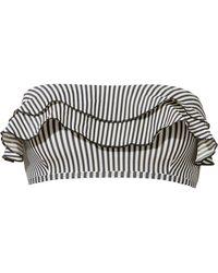 Suboo | Ziggy Frill Bandeau Bikini Top | Lyst