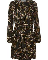 A.L.C. | Freja Printed Mini Dress | Lyst
