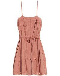 St. Roche - Kiki Eyelet Dress - Lyst
