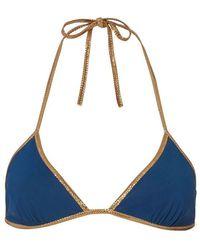 Tooshie - Reversible Triangle Bikini Top - Lyst