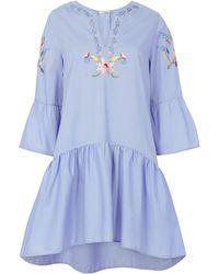 Vilshenko | Dory Poplin Dress | Lyst