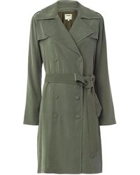 L'Agence - Elise Belted Trench - Lyst