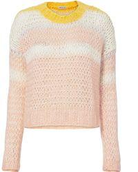 St. Roche - Katie Open Weave Sweater - Lyst