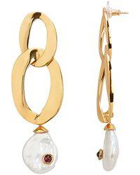 Lizzie Fortunato - Basilicata Earrings - Lyst