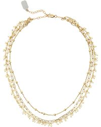 Ela Rae - Multi Chain Necklace - Lyst
