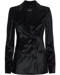 38226b61085e Cushnie et Ochs - Fitted Double Breasted Button Jacket - Lyst