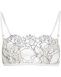 Dion Lee - Trace Lace Bra Ivory/lace S - Lyst