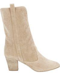Laurence Dacade - Simona Corduroy Ankle Boots - Lyst