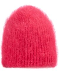 Jennifer Behr | Hot Pink Angora Beanie | Lyst