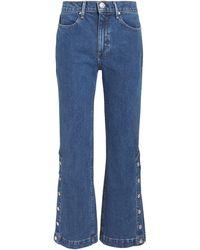 Rag & Bone - Dylan Snap Button Jeans - Lyst
