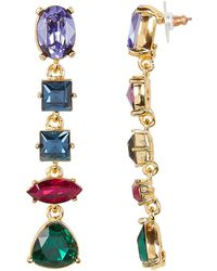 Kenneth Jay Lane - Gem Drop Earrings - Lyst