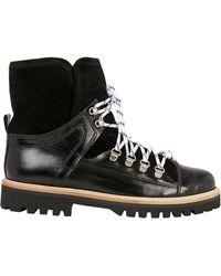 Ganni - Edna Hiker Boots - Lyst