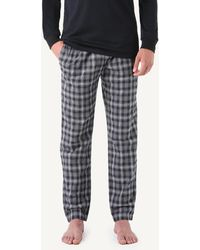 Intimissimi Tartan Pajama Pants - Gray