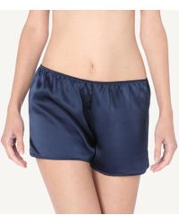 Intimissimi - Smooth Silk-satin Shorts - Lyst