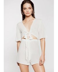 Ivyrevel - Laela Jumpsuit Off White - Lyst