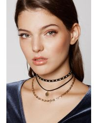 Ivyrevel - Glow Necklace Black - Lyst