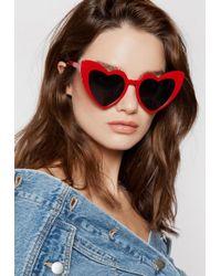 Ivyrevel - Heartbreaker Sunglasses Red - Lyst