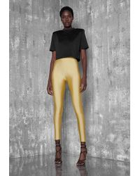 Ivyrevel - Shiny Pants Gold - Lyst