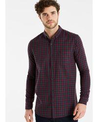 Original Penguin - Gingham Shirt Long - Lyst