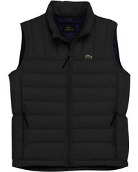 Lacoste - Mighty Padded Gilet - Lyst