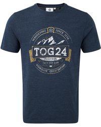 Tog 24 - Tog24 Kelton Graphic T Label - Lyst
