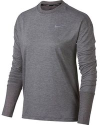 Nike - Element Crew Top - Lyst