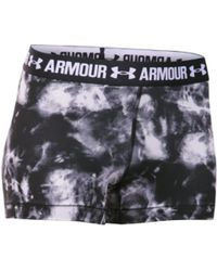 On - Women's Under Armour Heatgear Armour Print 3 Inch Compressi - Lyst