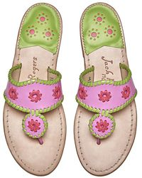 Jack Rogers   Collector Edition Limoncello Sandals   Lyst