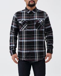 Retrofit - Flannel Plaid Shirt - Lyst