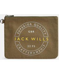 Jack Wills - Harriston Stationery Pouch - Lyst