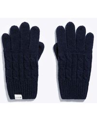 Jack Wills - Poynton Cable Gloves - Lyst