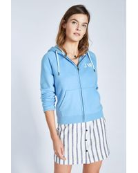 Jack Wills - Raynes Back Graphic Zip Through Hoodie - Lyst