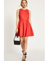 Jack Wills - Hertha Fit And Flare Dress - Lyst