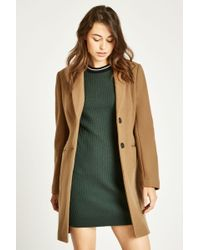 Jack Wills - Chelsea Wool Blend Overcoat - Lyst