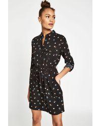 Jack Wills - Helford Floral Belted Shirt Dress - Lyst