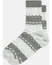 Jack Wills - Breamwell Fairisle Ankle Socks - Lyst