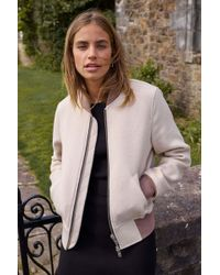 Jack Wills - Maltby Wool Blend Bomber - Lyst