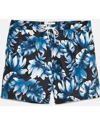 Jack Wills | Branwell Printed Swim Shorts | Lyst