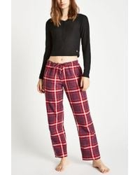 Jack Wills - Fretherne Check Flannel Lounge Pants - Lyst