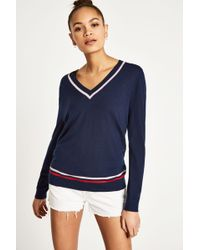 Jack Wills - Bigbury V Neck Jumper - Lyst