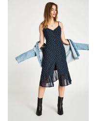 Jack Wills - Ledbury Button Through Midi Cami Dress - Lyst