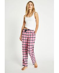 Jack Wills - Fretherne Check Flannel Lounge Pant - Lyst