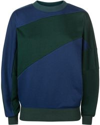 Jaeger - Colour Block Sweatshirt - Lyst