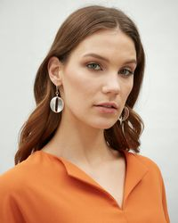 Jaeger Courtney Ovals Earring