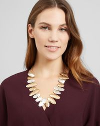 Jaeger - Amanda Ovals Short Necklace - Lyst